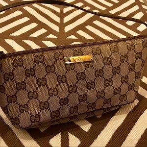 Authentic Monogram Gucci shoulder Bag